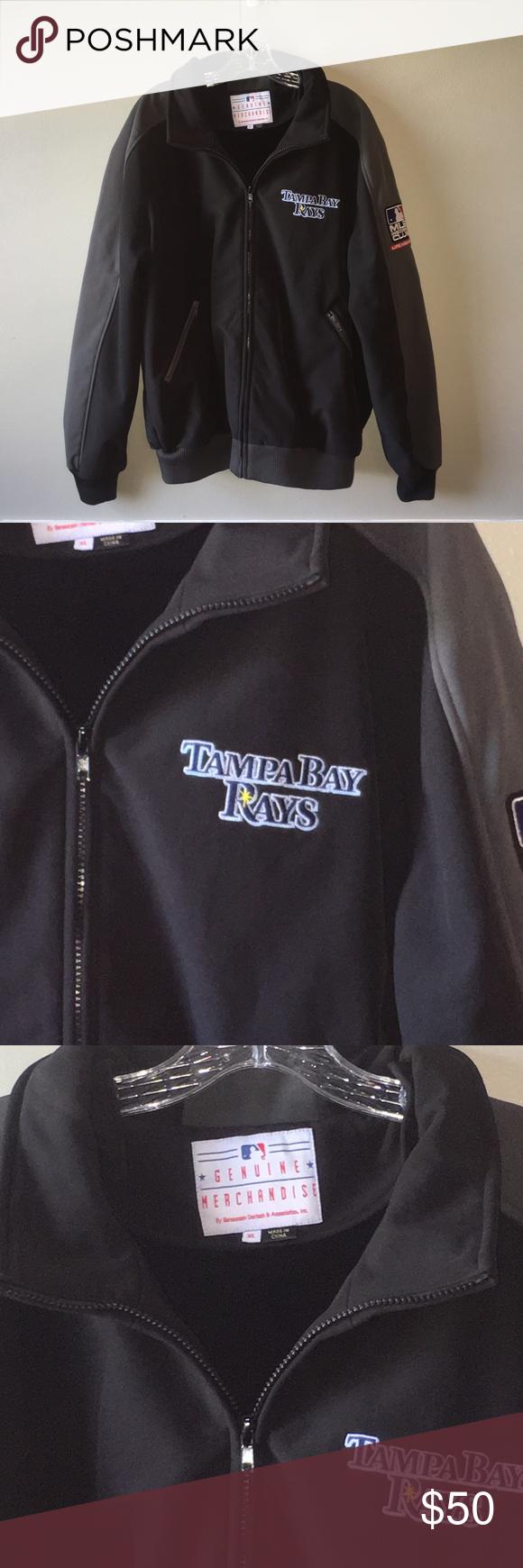 Tampa Bay Rays Coat Jacket Mlb Insiders Club Xl Coats Jackets Tampa Bay Rays Jackets