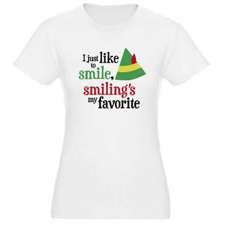 Smiling's My Favorite Jr. Jersey T-Shirt $35.50