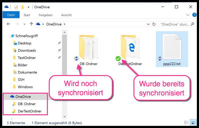 Windows Nur Bestimmte Onedrive Ordner Synchronisieren Ordner Wissenswertes Desktop