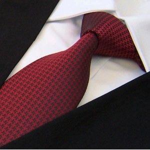 bb90f9fa90bc6 label-cravate - cravate rouge et noire à motifs   label-cravate.com ...