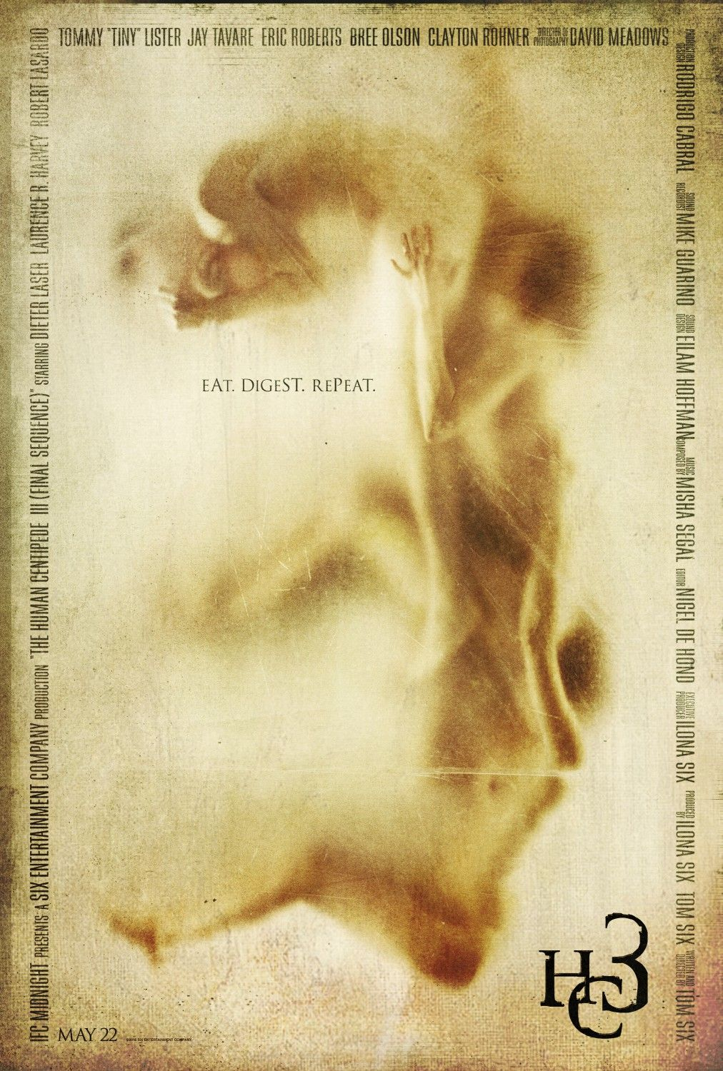 The Human Centipede 3 Extra Large Movie Poster Image Internet Movie Poster Awards Gallery Centipede Movie Posters Movie Posters Design