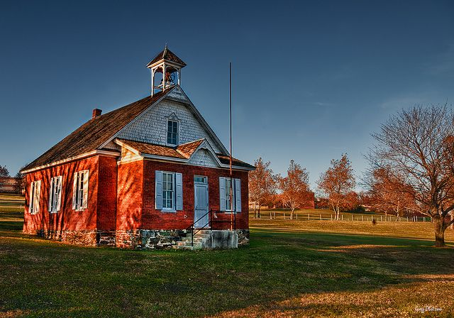 Fissel S One Room Schoolhouse Built In 1896 In York County Pa It Served The Community Of Glen Rock Pa A School House Rock Red School House Old School House