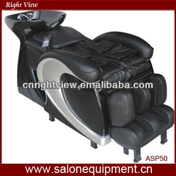 ... Wave Shampoo Bowl and Chair in White alternative product image 3 ...