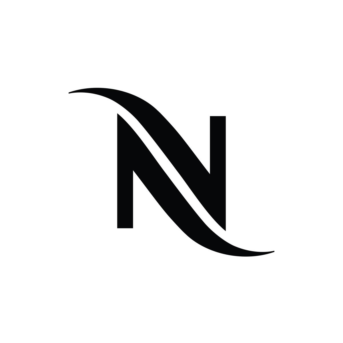 Nespresso Svg Logo N Logo Design Letter Logo Design N Letter Design