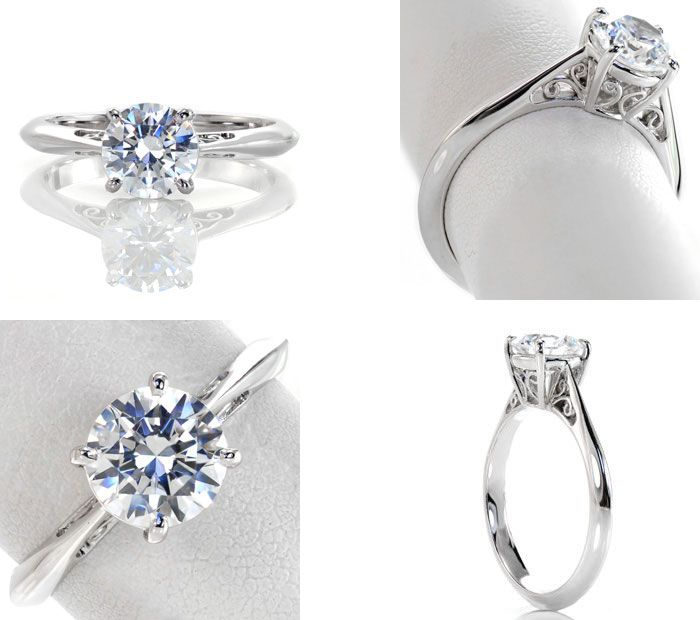 10 Unique engagement rings | Filigree Engagement Ring | Knox Jewelers | Fab Mood