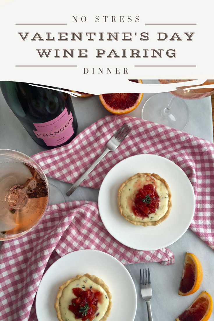 Valentine's Day Wine Pairing Dinner for Two | Wander & Wine