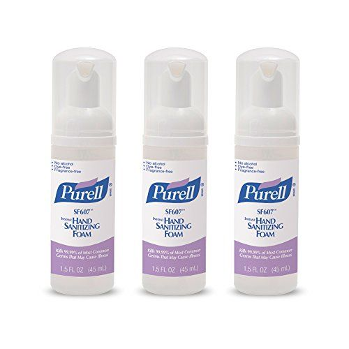 Purell Alcoholfree Foam Hand Sanitizer Advanced Nonalcohol Formula