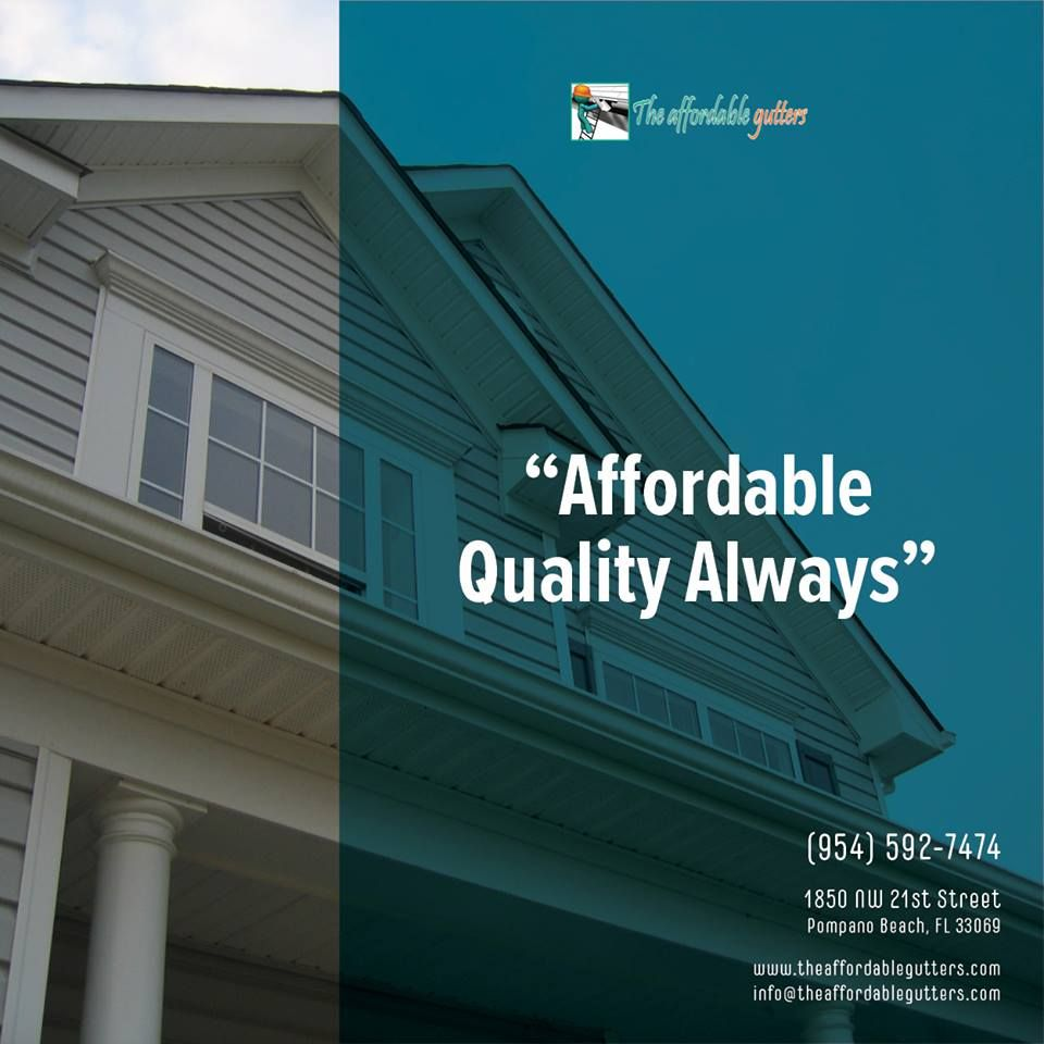 Treat Your Home To A Holiday Gift Homeowners Theaffordablegutters Treatyourself Homeimprovements Gutters Southf Gutters Homeowner How To Install Gutters