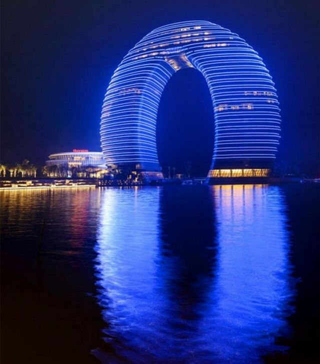 Sheraton Huzhou by MAD architects just unveiled