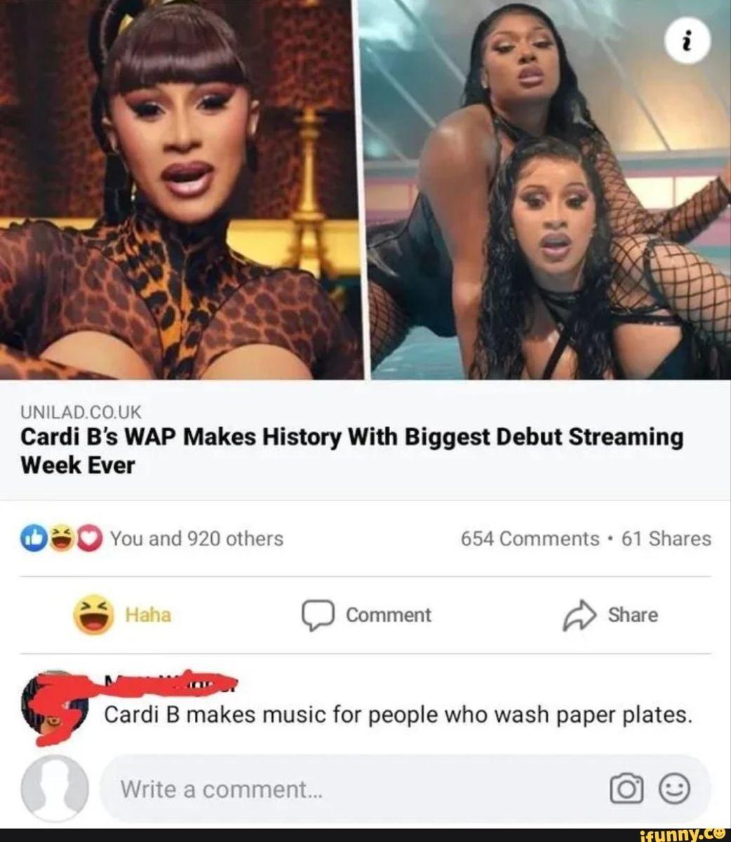 Pin By Briggs On Memes Cardi B People Streaming