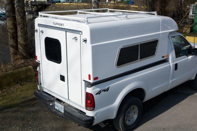 Tufport Utility Work Truck Slide In Microcampers Truck