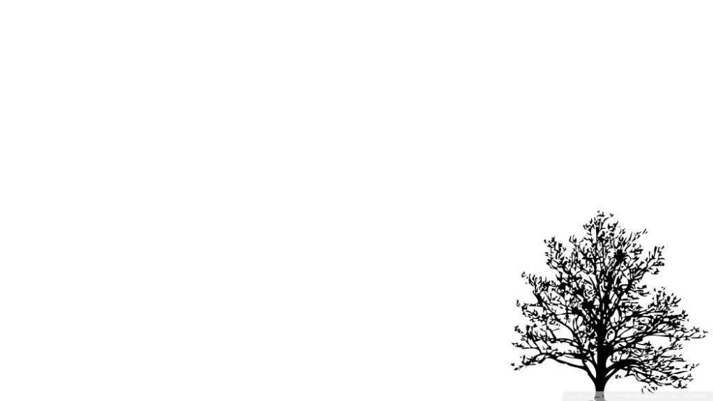 Minimalist Tree HD desktop wallpaper High Definition