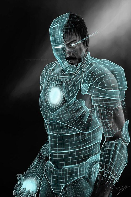 Iron Suit Blueprint