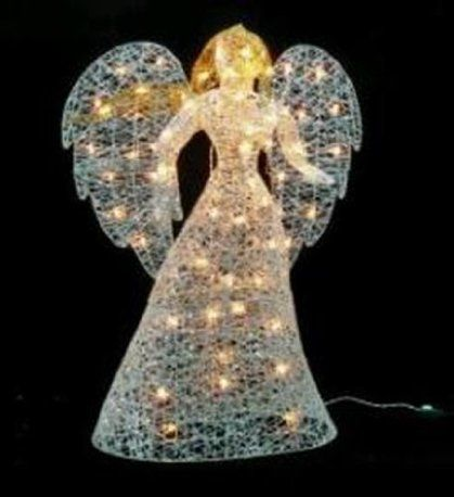 Lighted angel outdoor yard decoration lighted christmas angels lighted angel outdoor yard decoration aloadofball Image collections