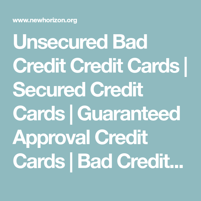 Secured Credit Cards Regardless Of Bad Credit Rebuilding Credit