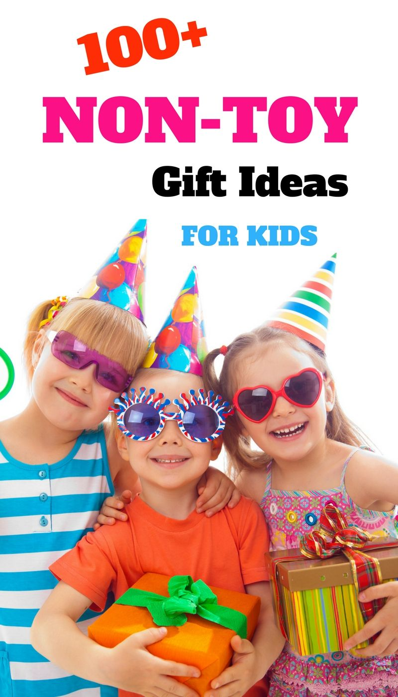 100 Non Toy Gifts For Kids Toddlers, Preschoolers -1281