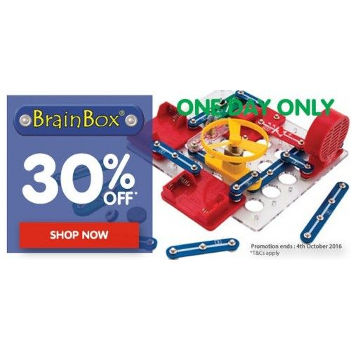 30% OFF Brainbox @ Toyco - Bargain Bro