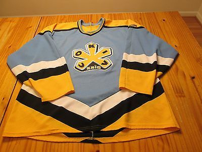 UKRANIAN Authentics COKIV long sleeve Bauer hockey jersey size adult L Large