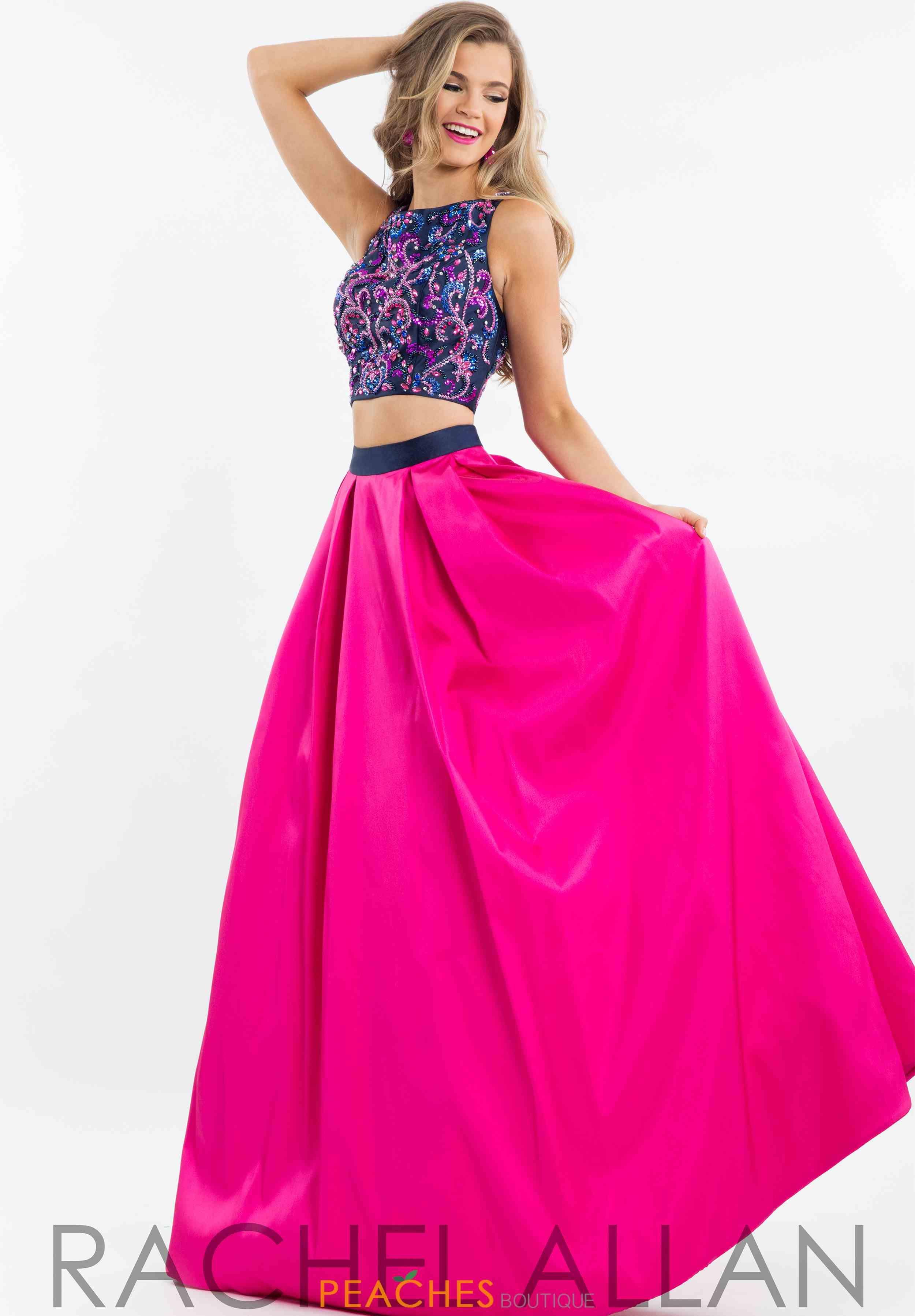 Rachel Allan Prom Dresses Peaches Boutique Prom Dresses Piece Prom Dress Dresses [ 3594 x 2500 Pixel ]
