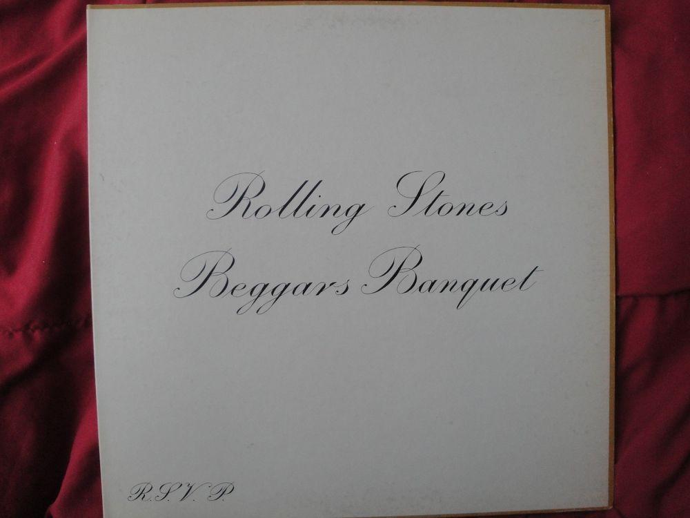 "THE ROLLING STONES ""BEGGARS BANQUET"" VINYL LP 1968 LONDON RECORDS PS 539, STEREO #BritpopBluesRockBritishInvasionExperimentalRockFolkCountryRockProgressiveArtRockPsychedelicRockRocknRoll"