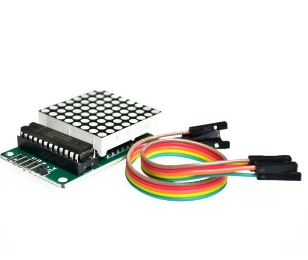 2PCS Arduino microcontroller MAX7219 dot matrix module control Display DIY KIT