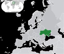 transliterated: Ukrayina