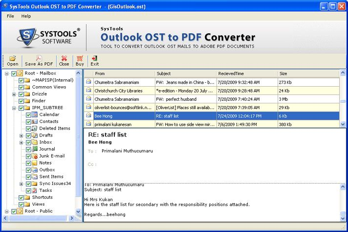 Free convert exchange ost to pdf tool Software Downloads at
