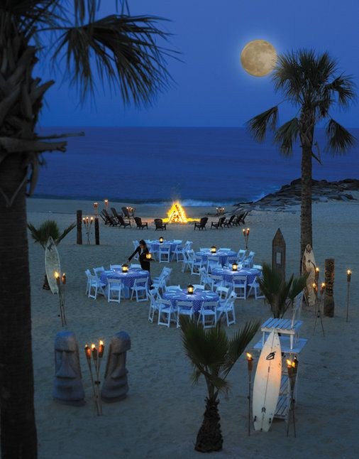 Beach Bbq And Bon Fire So Beautiful A More Private Wedding Or Maybe Even Cute Party Theme