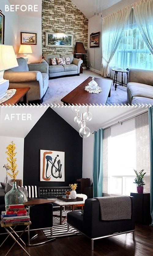 Before After A 1950s House Gets A Faithful But Modern Update Design Sponge Home Living Room Home House Interior