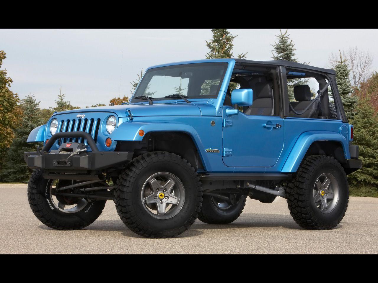 Blue jeep wrangler google search
