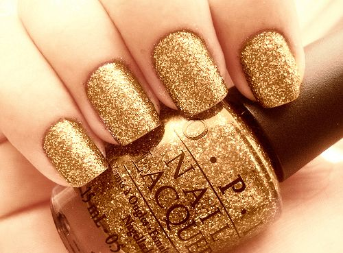 Fancy Gold Nail Polish Nails Opi Inspiring Picture On Favim
