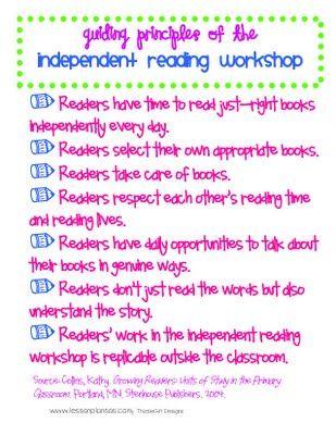 Rockin' Reading Workshop! all about how she does reader's workshop