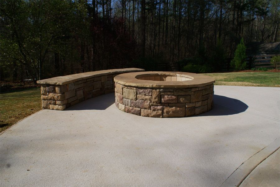Someday Stone Fire Pit Fire Pit Rustic Fire Pits