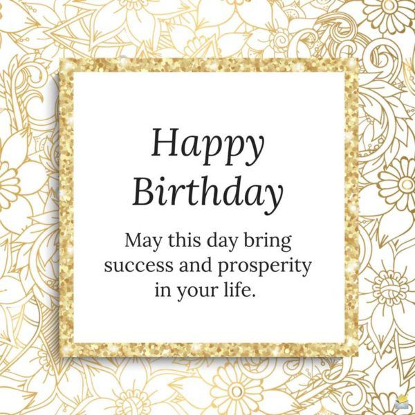 professional birthday wishes for employers and employees