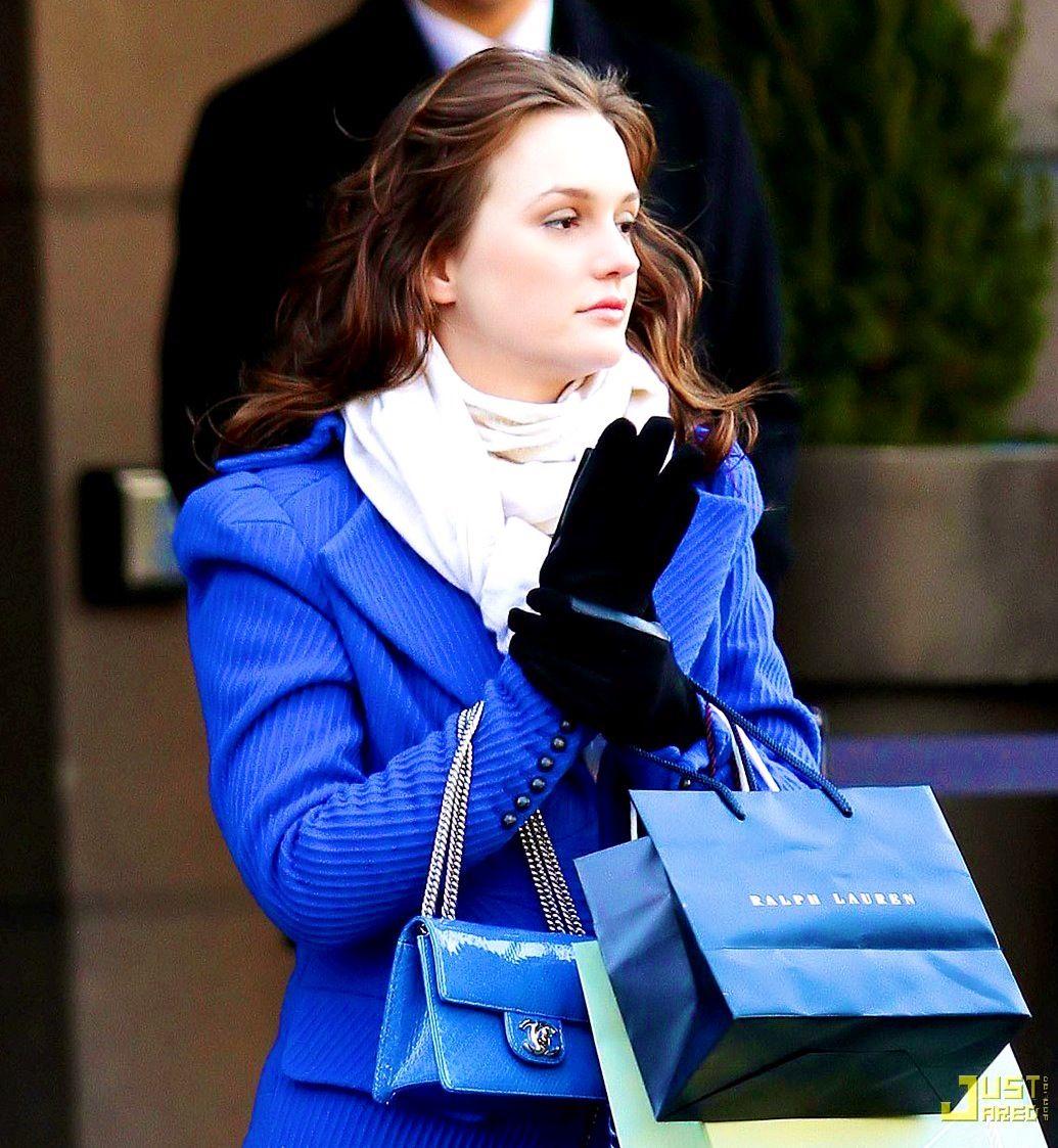 Leighton meester winter fashion pinterest leighton meester