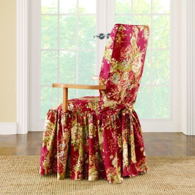 Sure Fit Ballad Bouquet By Waverly Dining Room Chair Slipcover In