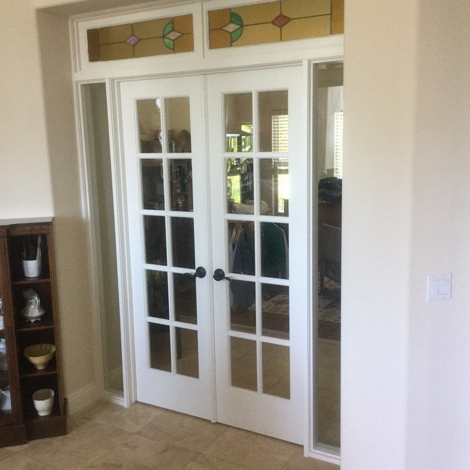 Change Your Sliding Glass Door Into A French Door This Renovation