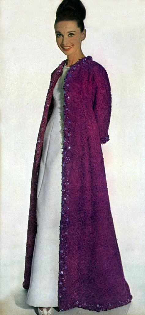 Audrey Hepburn photographed by Irving Penn for fashion editorial for ...