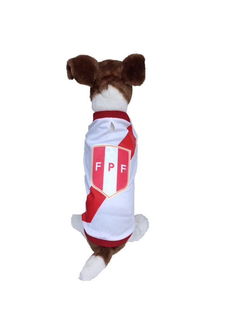 Peru Dog Soccer Jersey T Shirt Copa America 2019 Fifa Dog Seat