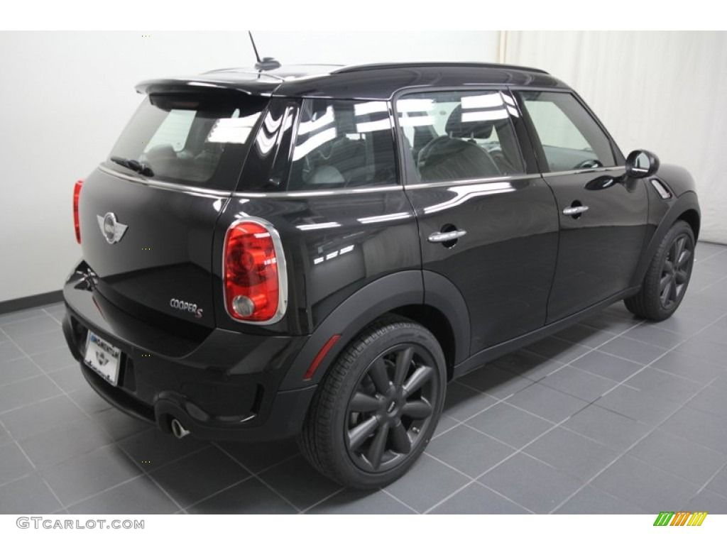 Cooper s countryman absolute black metallic