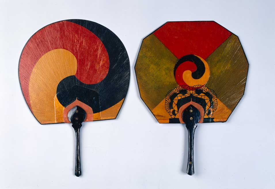 Fans With Yin Yang Symbol South Korea Pinterest Korean Art