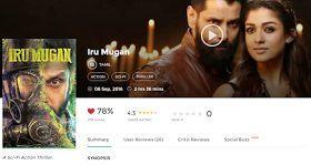 iru mugan tamil movie free download