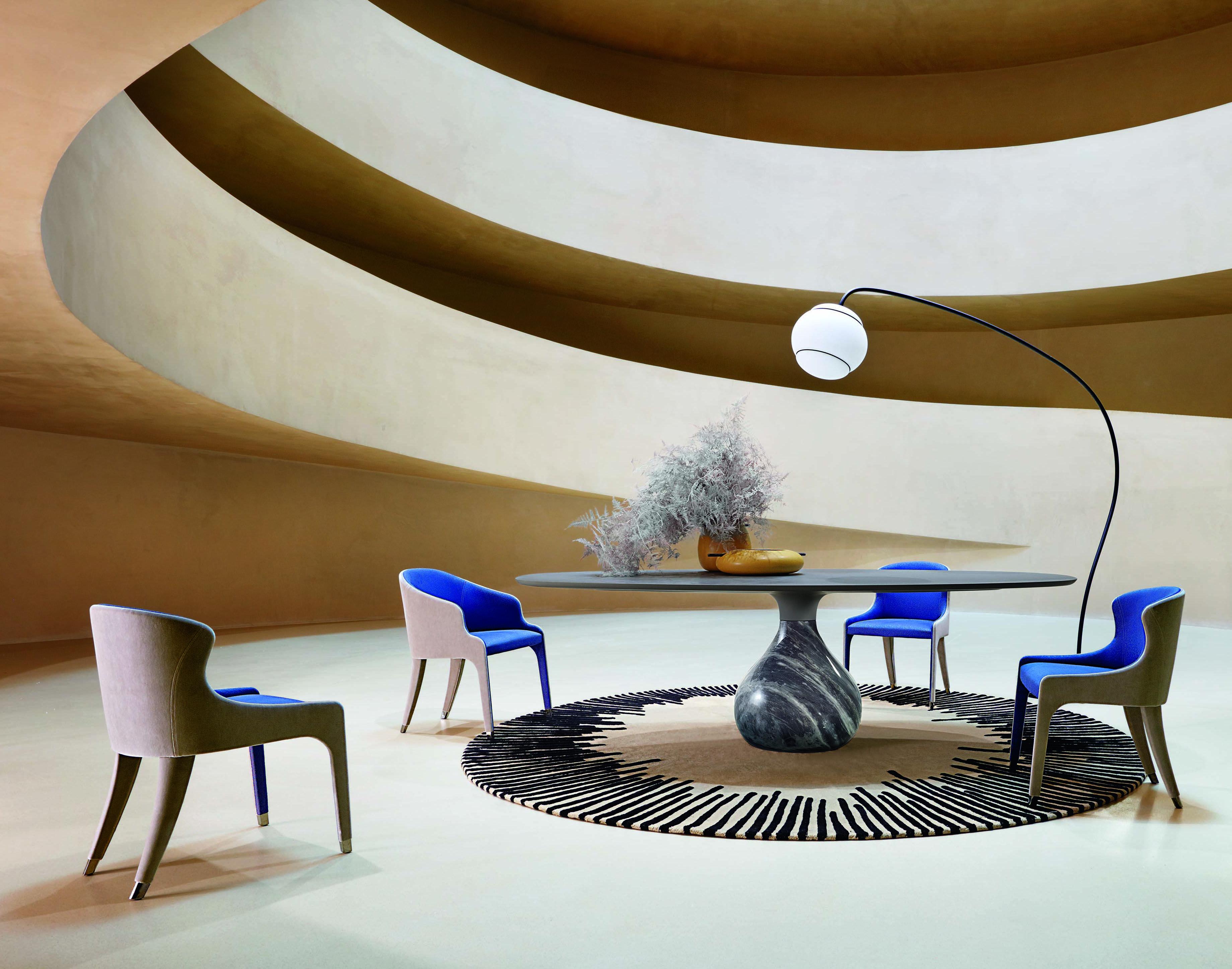 Roche Bobois l Aqua Dining Table l Designed by Fabrice