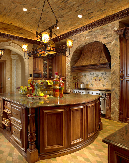 Inside Luxury Kitchens inside chris cline's beachfront mega-mansion | kitchens
