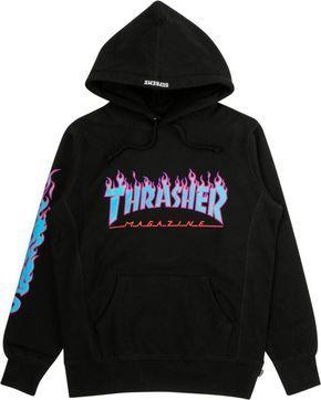 Supreme Thrasher Hooded Sweatshirt SU1244 in 2020 | Trendy