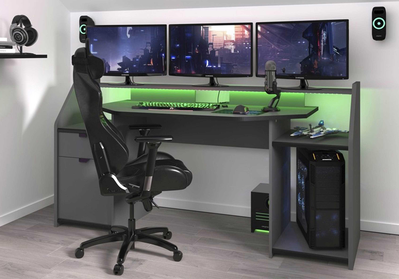 11 Charming Desk Setup Gaming Pc Schreibtisch Schreibtisch Setup Gaming Schreibtisch