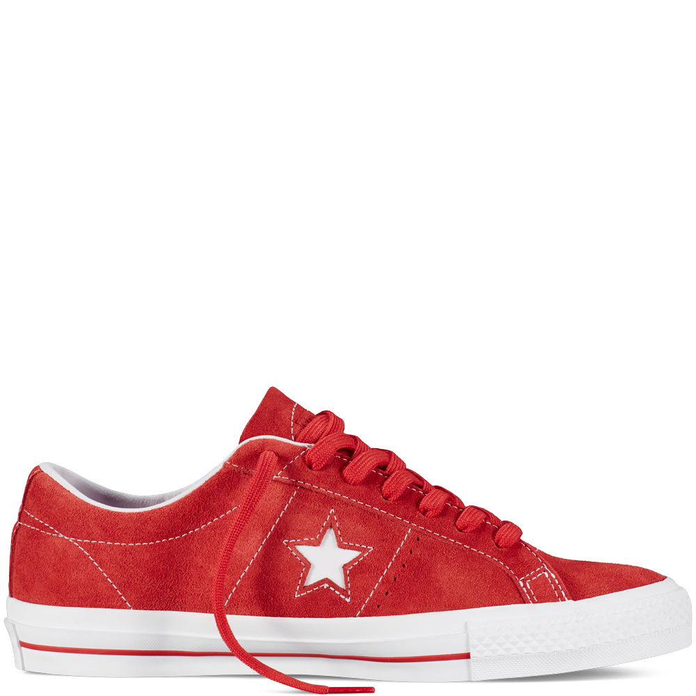 Converse  CONS One Star Pro Suede  Red  Low Top