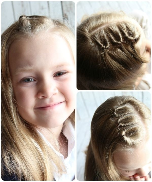Easy Kids Hairstyles Tutorials Easy Party Hairstyles For