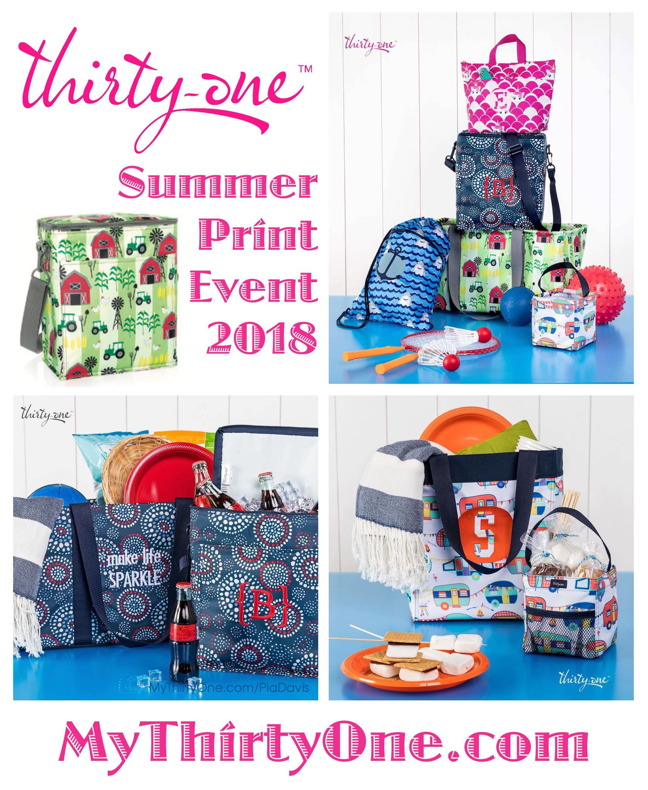 #31 Summer Print Event For 2018 Farm Fun, Happy Campers,