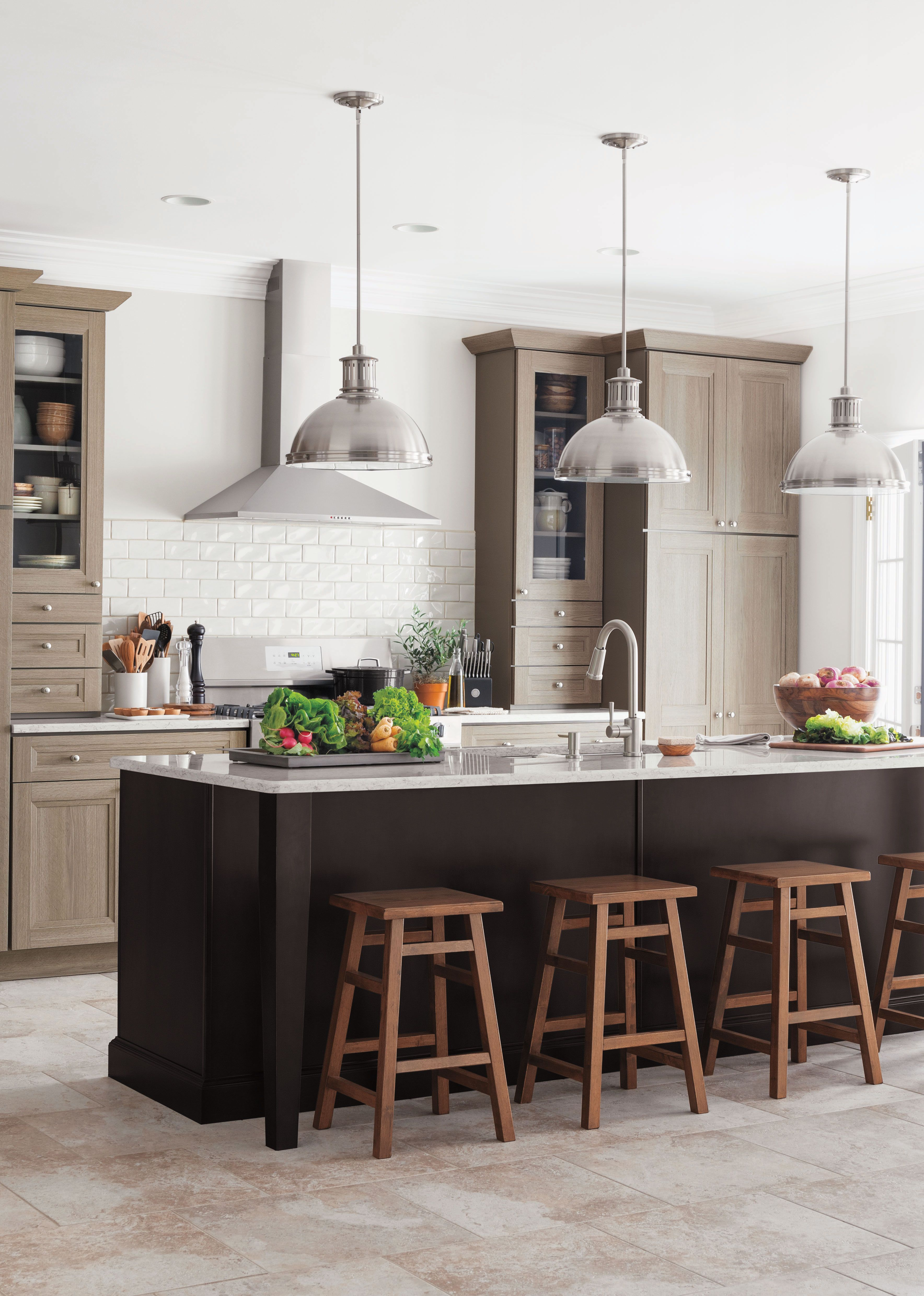 Living Kitchens At The Home Depot